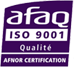 logo AFAQ ISO-9001